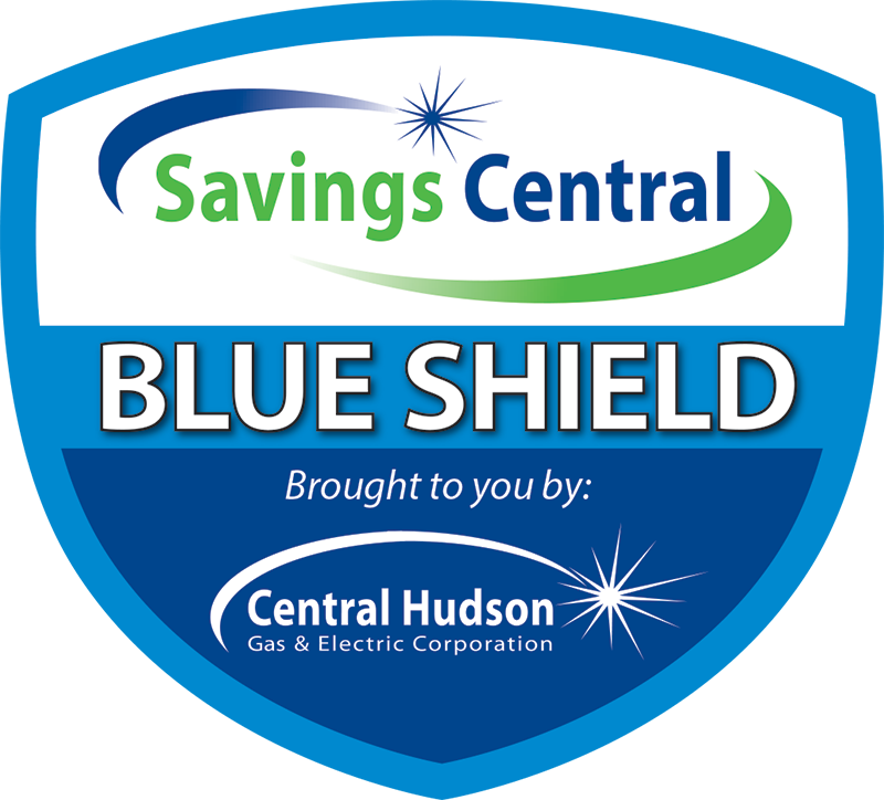 central hudson blue trade ally shield emblem