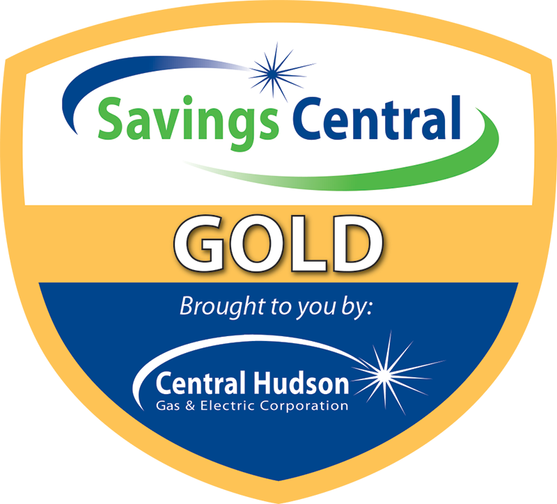 central hudson gold trade ally shield emblem