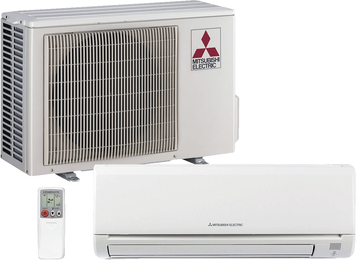 Efficient Ductless Heating And Cooling Systems Installed